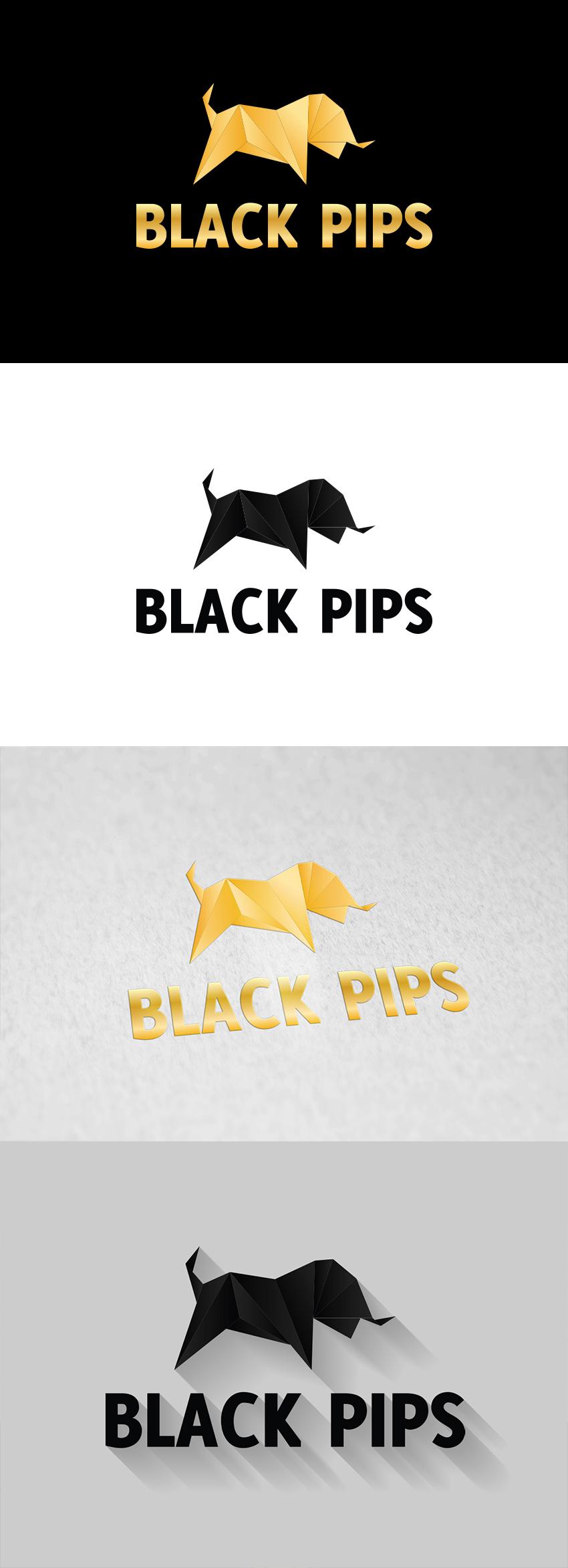 black pips logo